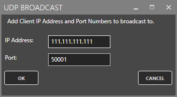 UDP Broadcast Add IP