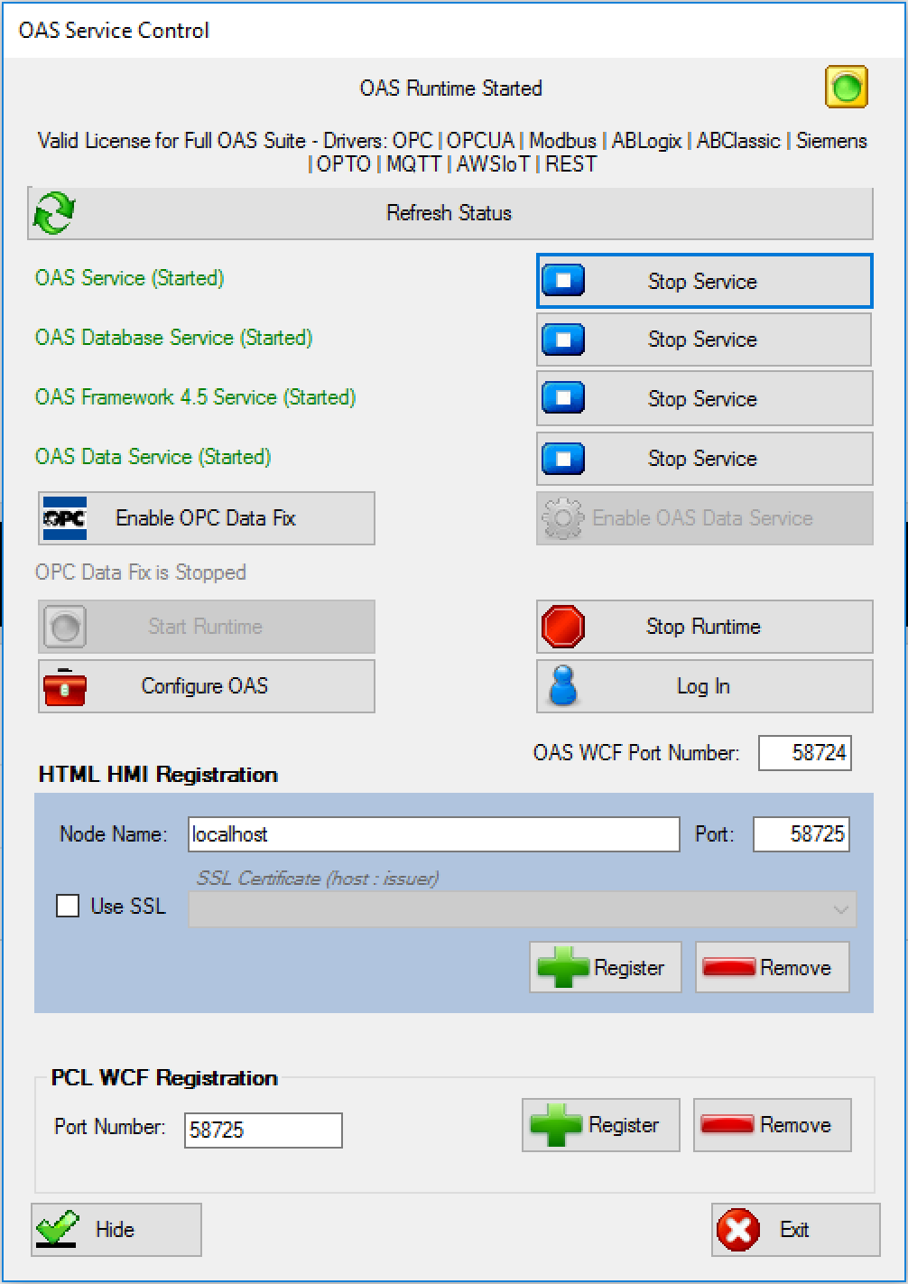 Writing data from Raspberry Pi using OAS REST API | Open