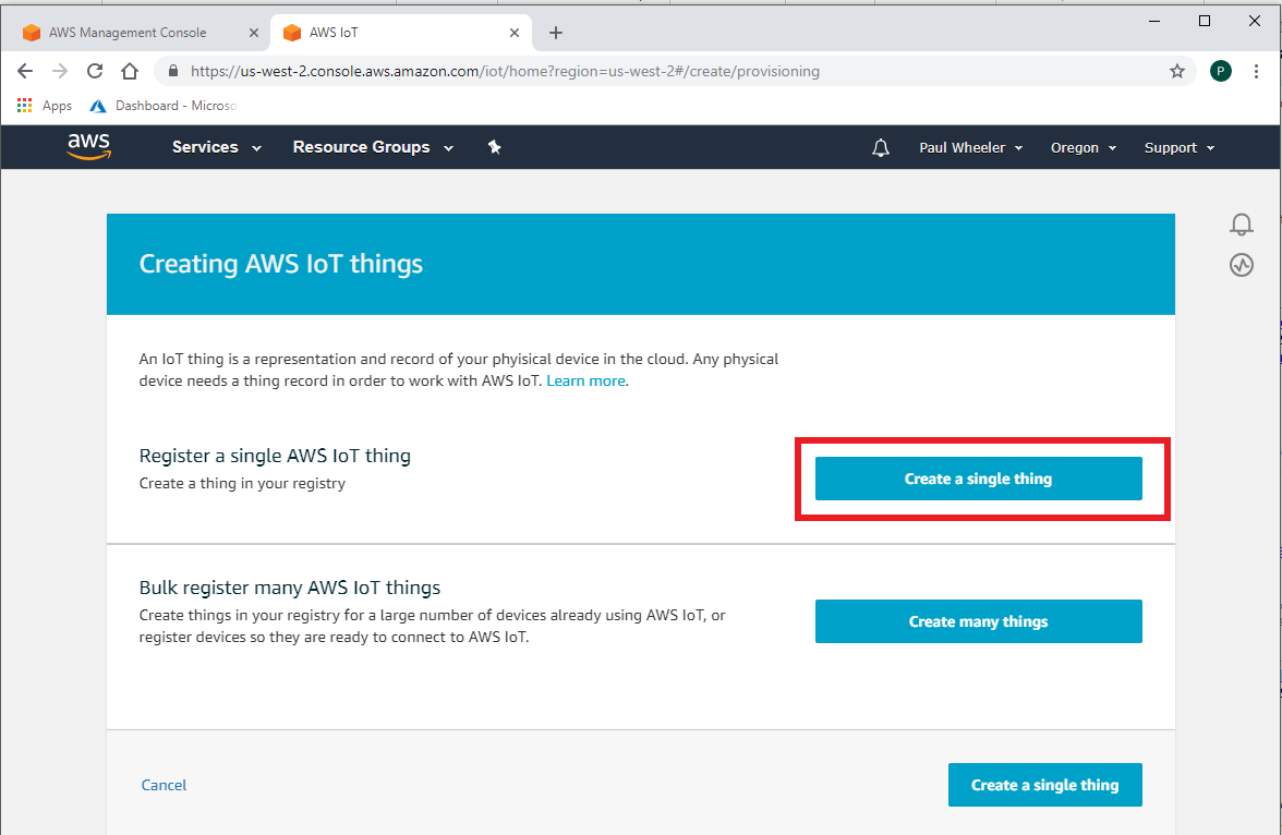 AWS-IoT-Step1