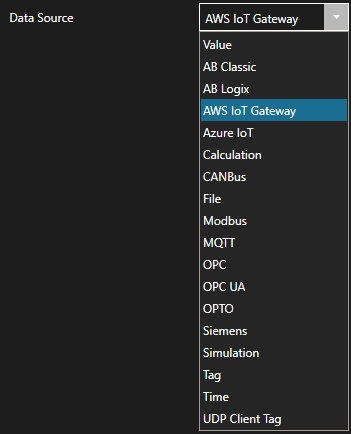 AWS Data Source