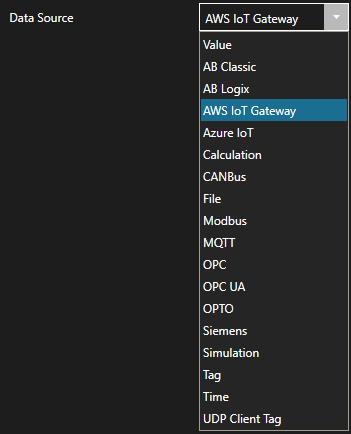 AWS Data Source